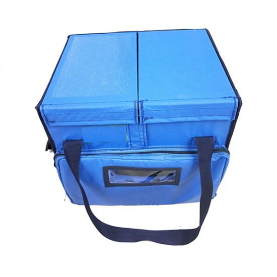 double compartment cold chain box